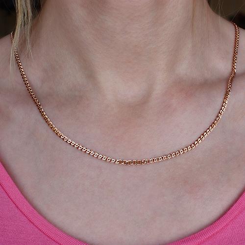 Золотая цепочка c алмазной гранью, 3мм 000053709 000053709 45 размера от Zlato - 2