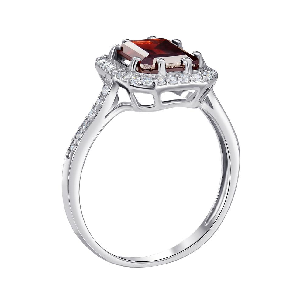 Серебряное кольцо Тенгери с гранатом и фианитами 000061492 000061492 17 размера от Zlato - 5