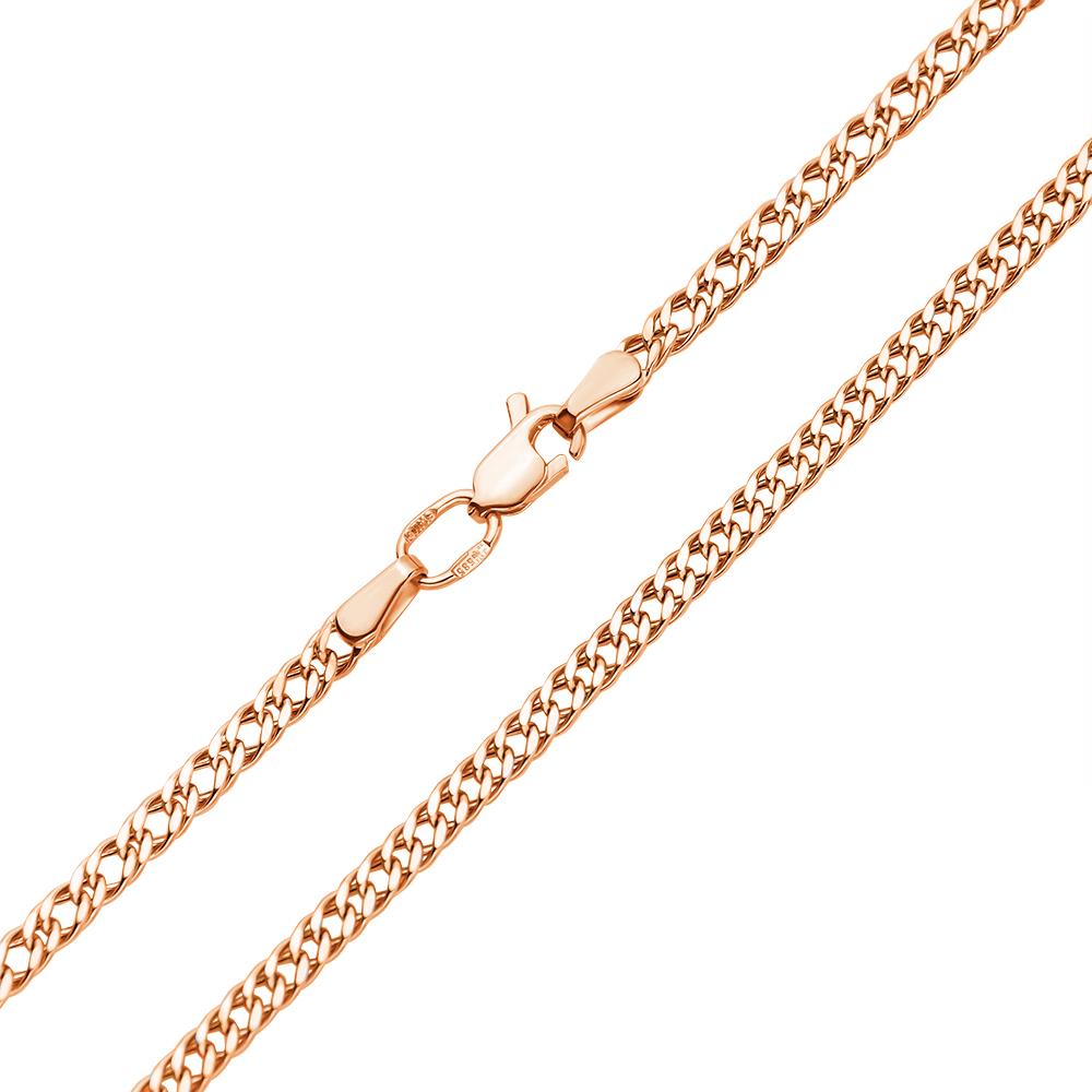Цепочка из красного золота 000101645 000101645 45 размера от Zlato