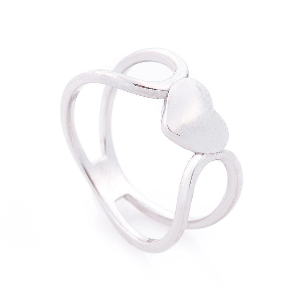 Серебряное кольцо в стиле минимализм 000115775 Zlato