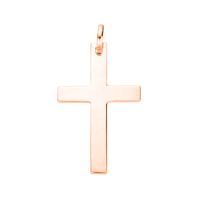 Крестик из красного золота 000103822 000103822 от Zlato - 2