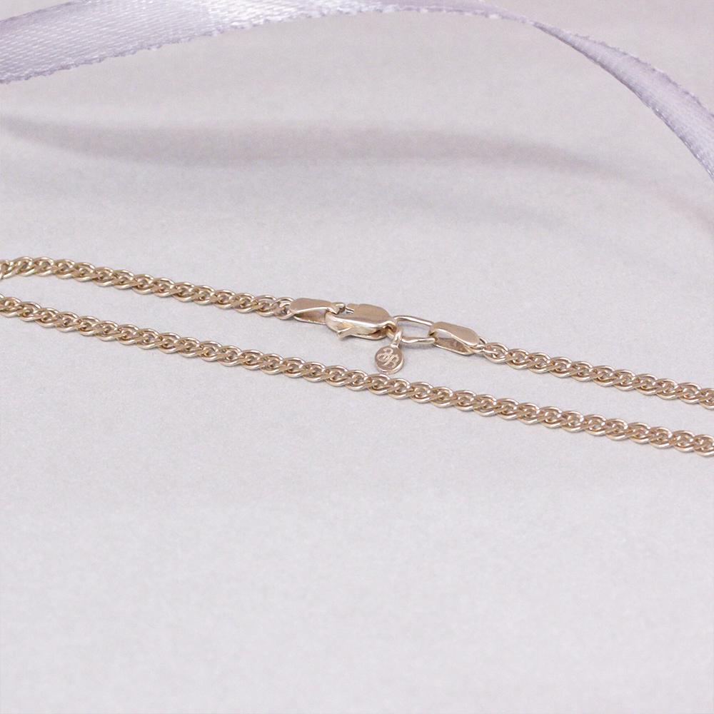 Золотой браслет Нонна с алмазной гранью, 2,5 мм 000095121 18.5 размера от Zlato - 3
