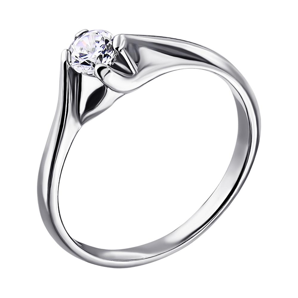 ZLATO / Серебряное кольцо с цирконием 000014535 000014535 17.5 размера