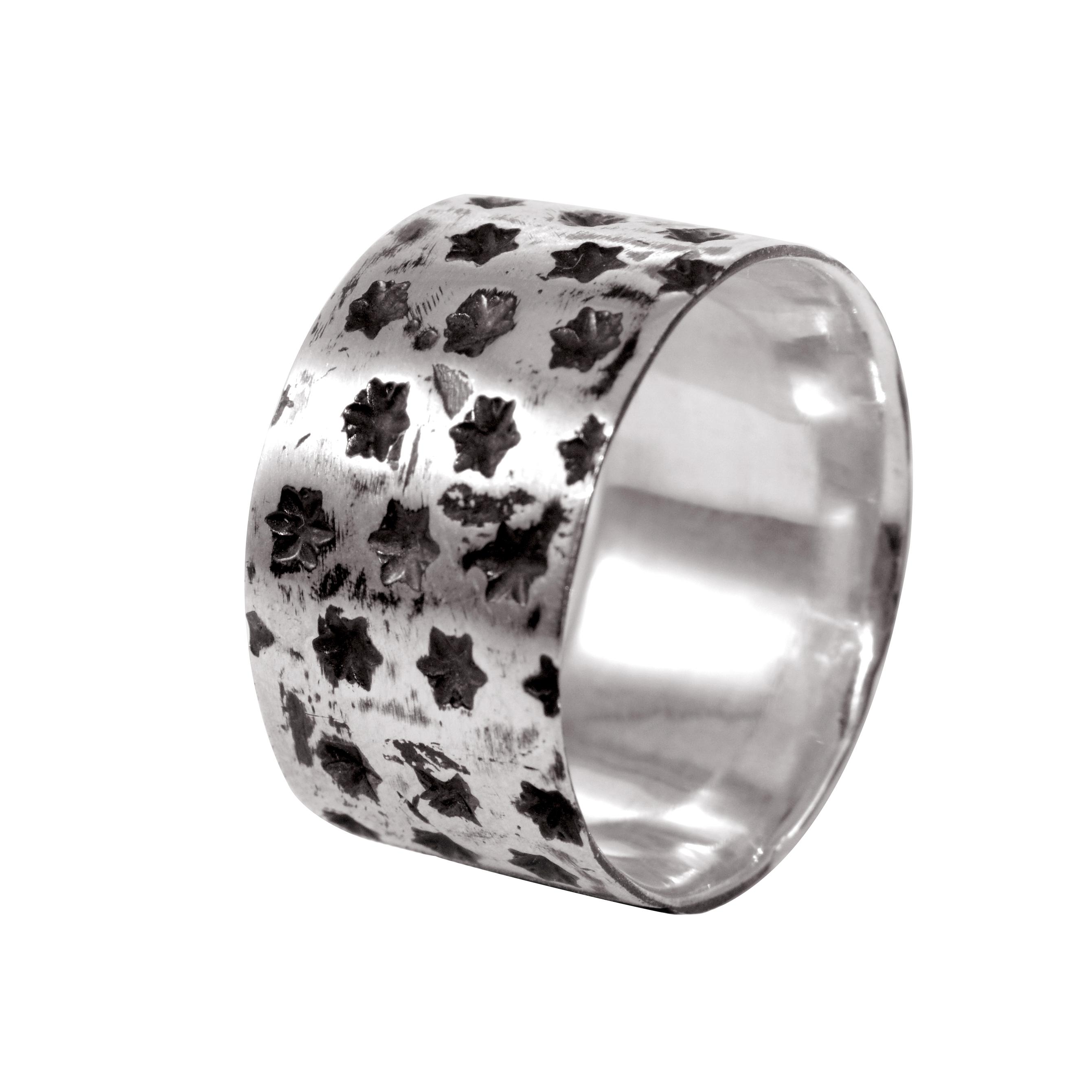Кольцо из серебра Fatum с чернением 000091350 Zlato