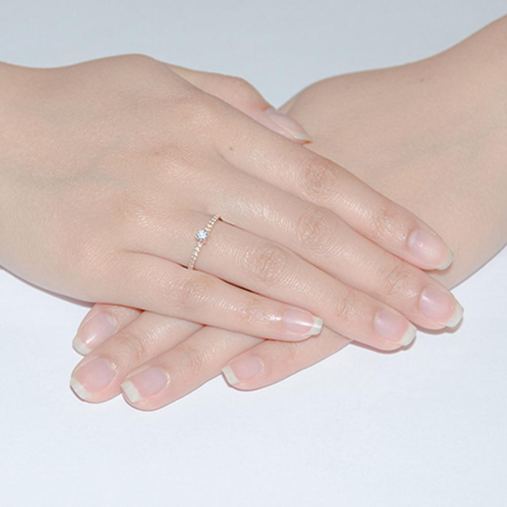 Золотое помолвочное кольцо Leda с фианитами 000101698 15.5 размера от Zlato - 2