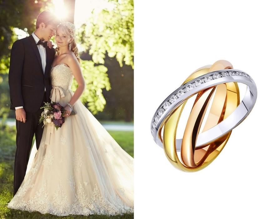 Обручальные кольца для свадьбы
