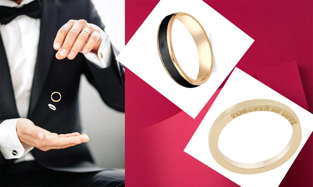 кільця на весілля