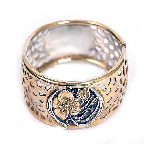 Купить браслет серебряный женский жесткий купить
