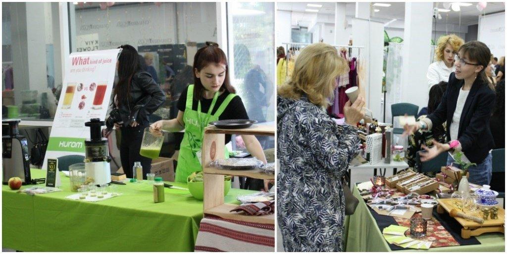 Соки и чайная церемония на Woman Hub