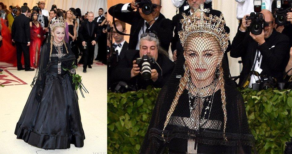 Мадонна украшения
