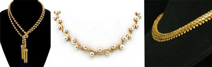 Золотые цепи и колье производства Золотого лелеки fa26542f8cd