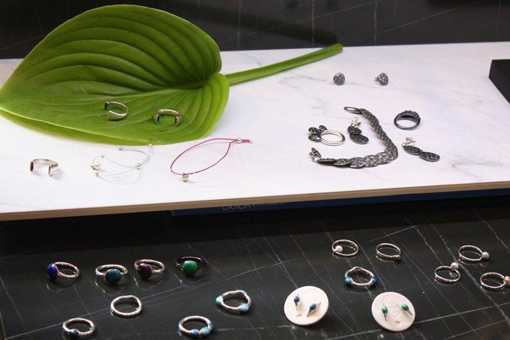 Кольца из серебра на выставке Ukrainian jewelry market