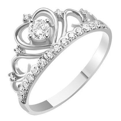 Кольцо в форме короны
