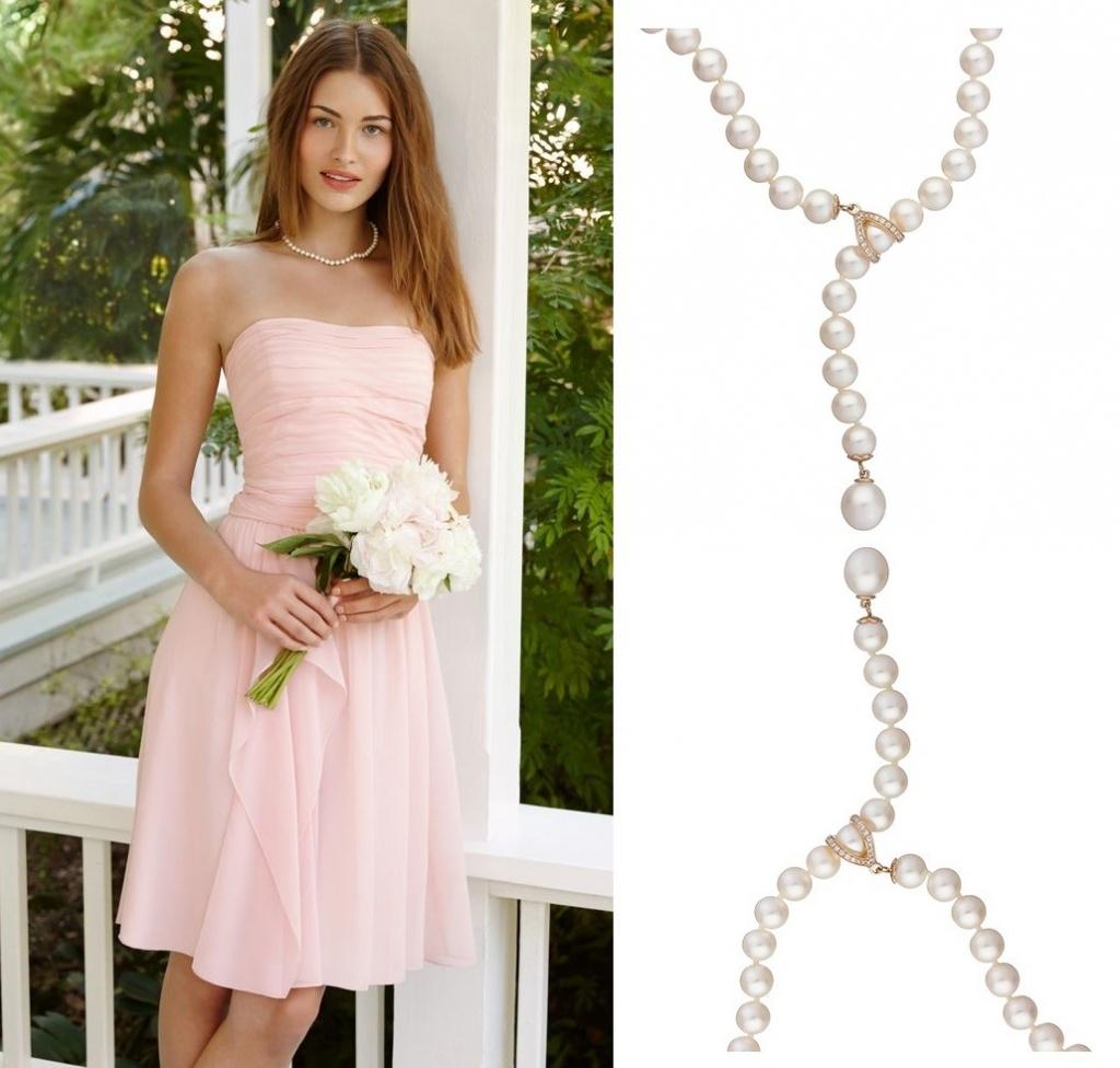 Ожерелье с жемчуга