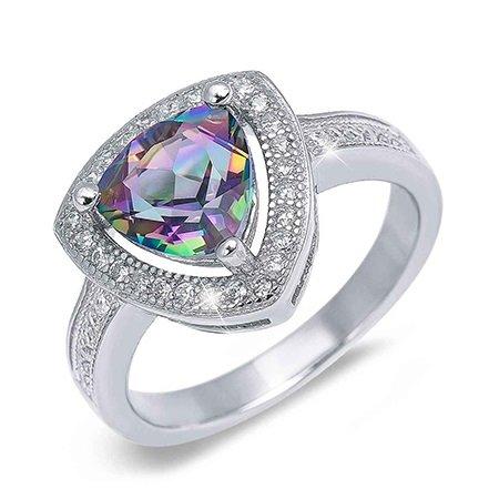 Серебренные кольцо с топазом от Серебро 925