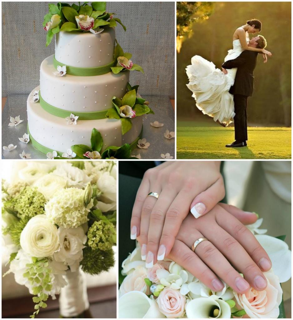 Олбручальные кольца на свадьбе