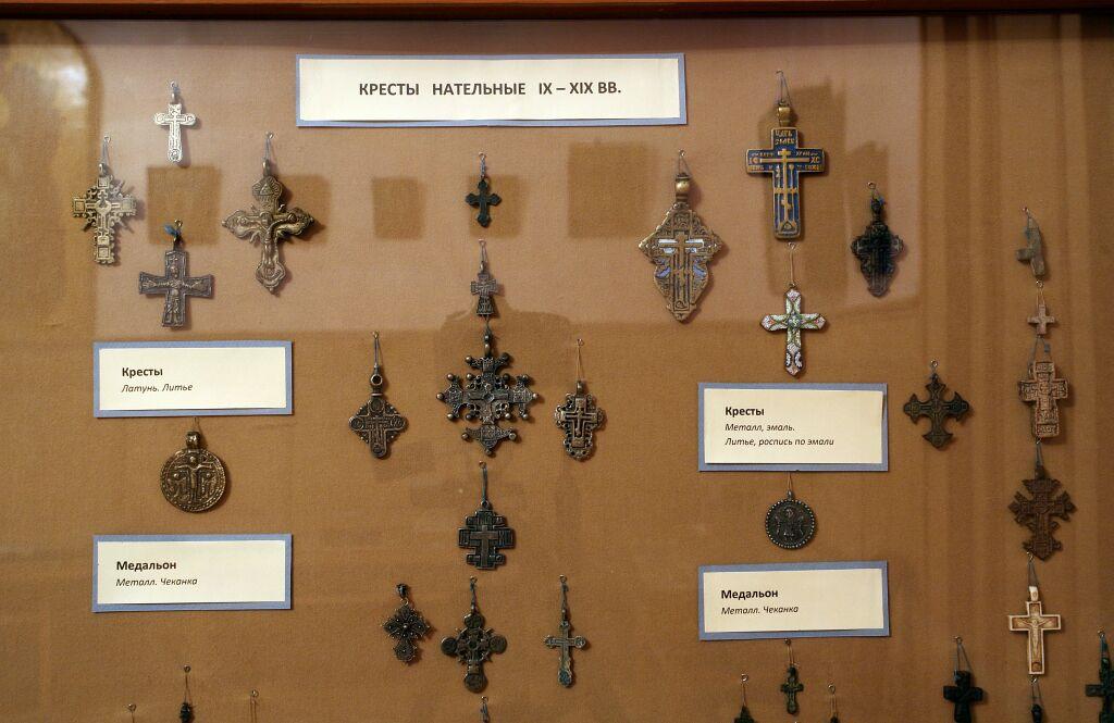 Исторические нательные крестики