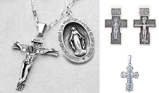 Почему нельзя носить крестик и иконку на одной цепочке