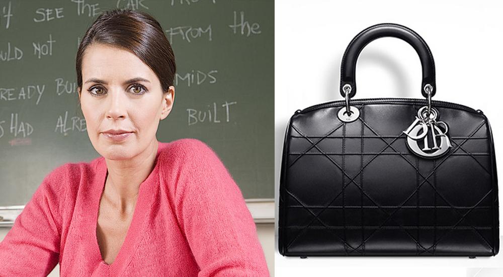 Кожанная сумка для учителя