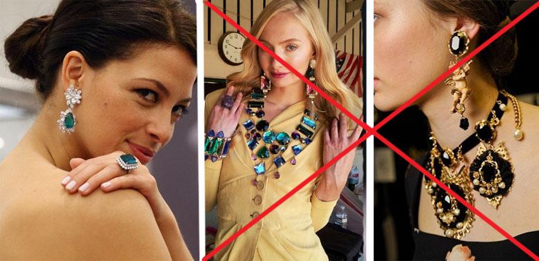 Как правильно сочетать ювелирные украшения со стилем одежды