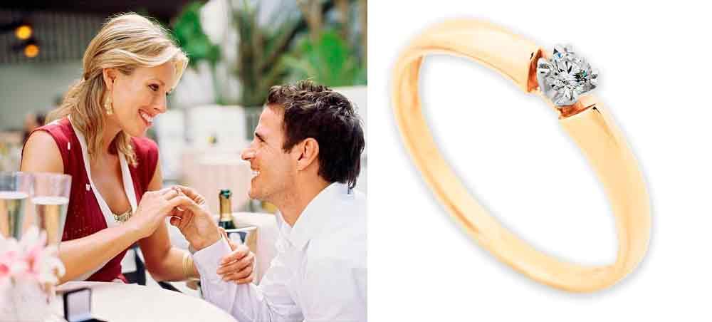 Обручальные кольца и помолвочные