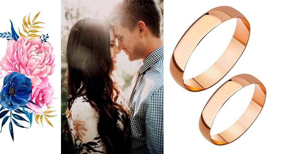 обручальные кольца на свадебку