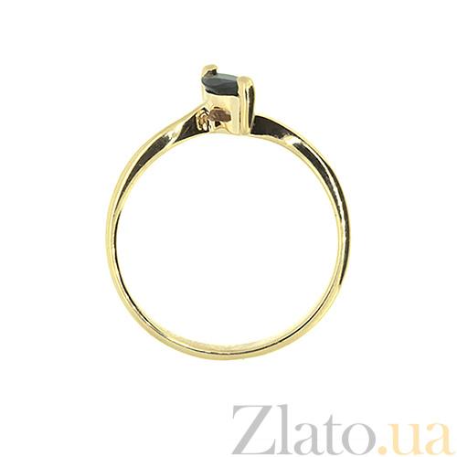 2fb6bafeeb71 Купить Золотое кольцо Маркиза с сапфиром из желтого золота ZMX--RS ...
