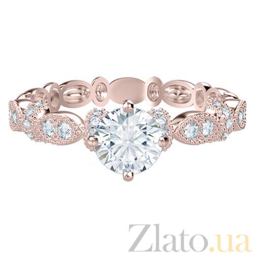 Купить Кольцо из розового золота с бриллиантами Очарование 767 в ... 1bc1fa857e6