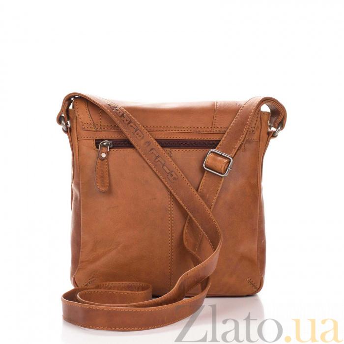 6a905d4d0fa6 ... Кожаная мужская сумка HILL BURRY 3336 коричневого цвета на молнии с  клапаном 000092604 ...