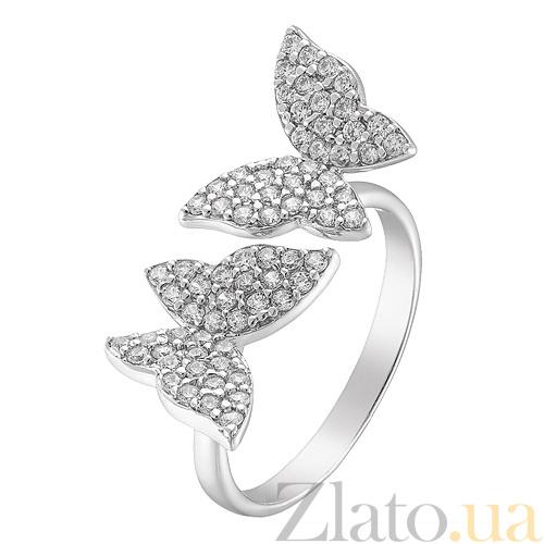 Купить серебряное кольцо бабочки с фианитами 000044471 в Zlato.ua c43261872edff