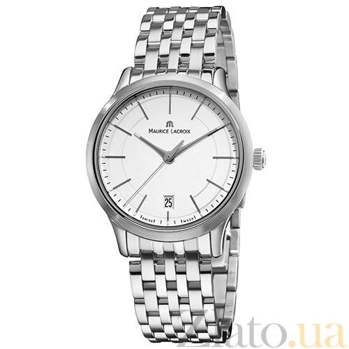 0c8e390e Часы Maurice Lacroix коллекции Les Classiques Gents date MLX--LC1117-SS002- 130