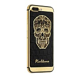 Apple iPhone 7 (256GB) Noblesse Gold Plated Skull