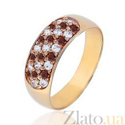 Купить Золотое кольцо с фианитами Луиза EDM--КД045К в интернет ... fe1334b53f05b