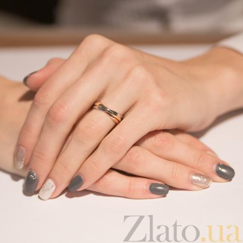 Купить Золотое обручальное кольцо Тринити TRF--4710510 в интернет ... e133801dfd6
