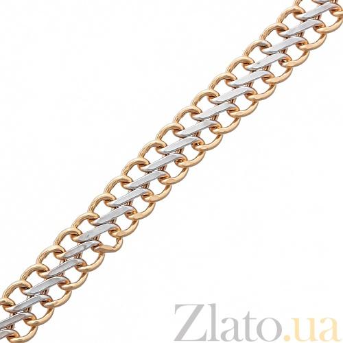 Золотой браслет с алмазной обработкой