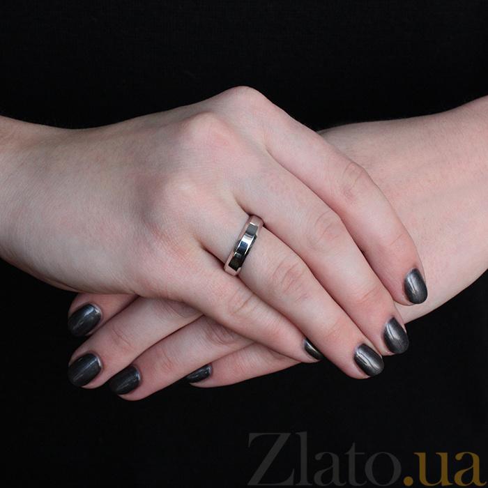 48bc2e6a05b5 ... Серебряное обручальное кольцо Классика любви с родиевым покрытием  000066483 ...