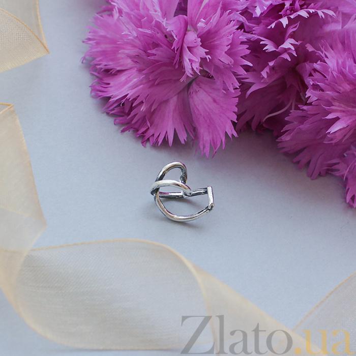 Серебряная каффа без прокола Мисс Икс 000071148 в Zlato.ua fbbe5bac0a615