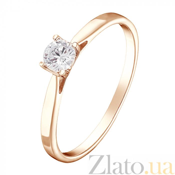 d66d91e4a617 Купить золотое помолвочное кольцо легкий шарм с бриллиантом ...