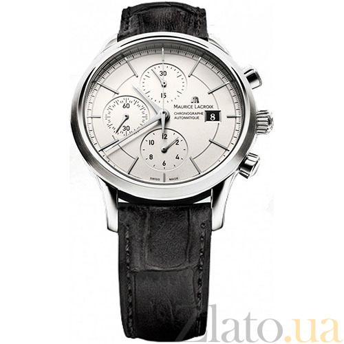 1a5647fe Часы Maurice Lacroix коллекции Les Classiques Chronographe  MLX--LC6058-SS001-130